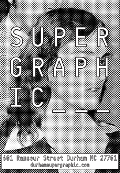 Supergraphic poster Hearst