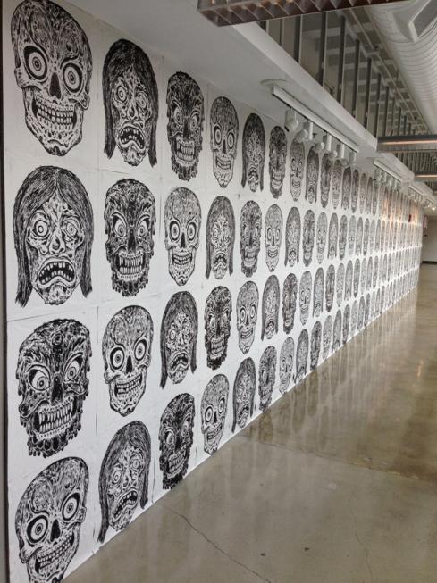 OSU wall
